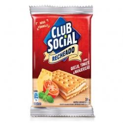 Biscoito Club Social Recheado Queijo, Tomate e Manjericão (4X28G)