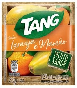 Suco em pó Tang Laranja e Mamão (15X25G)