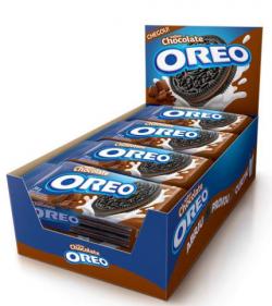 Biscoito OREO Recheado Chocolate (8X36G)