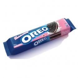 Biscoito OREO Recheado 90G Milkshake de Morango