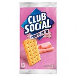 Biscoito Club Social Presunto (6X24G)