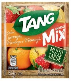 Suco em pó Tang Laranja, Morango e Maracuja (15X25G)