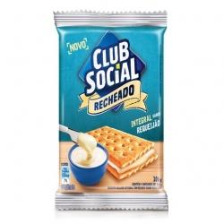 Biscoito Club Social Recheado Requeijão (4X28G)