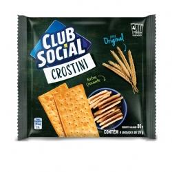 Biscoito Club Social Crostini Original (4X20G)