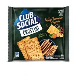 Biscoito Club Social Crostini Queijo e Vegetais (4X20G)