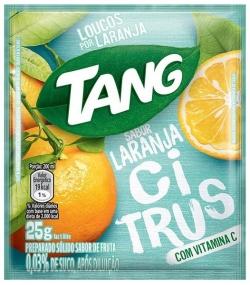 Suco em pó Tang Laranja Citrus (15X25G)