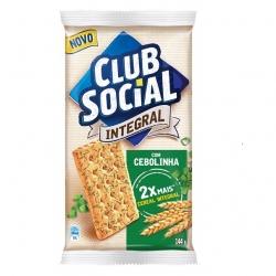Biscoito Club Social Cebolinha (6X24G)