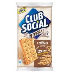 Biscoito Club Social 5 Cereais Integral (6X24G)