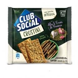Biscoito Club Social Crostini Alho e Ervas (4X20G)
