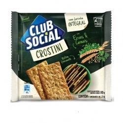 Biscoito Club Social Crostini Ervas e Cereais (4X20G)