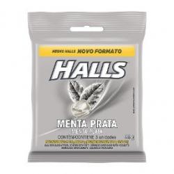 Drops Halls Menta Prata Pacote (3X 28G)