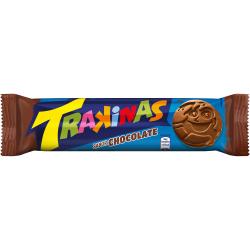 Biscoito Trakinas Recheado Chocolate 126G