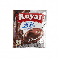 Pudim Royal Zero Chocolate (12X35G)