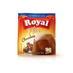 Flan Royal Chocolate (12X40G)