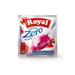 Gelatina Royal Zero Cereja (12X12G)