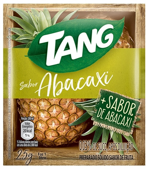 Suco em pó Tang Abacaxi (15X25G)